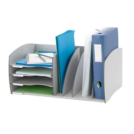 Organizadores de armários Paperflow cinza