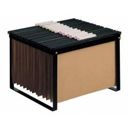 Suportes para capas de arquivo suspenso metálicos