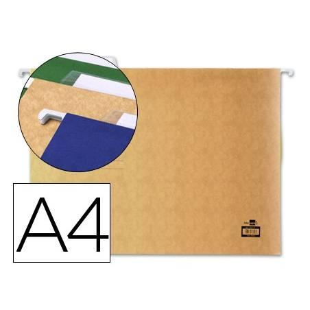 Capas de arquivo suspenso A4 com visor superior