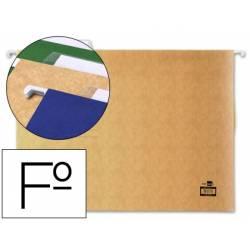 Capas de arquivo suspenso folio, com visor superior