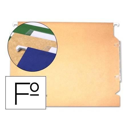 Capas de arquivo suspenso fólio com visor lateral