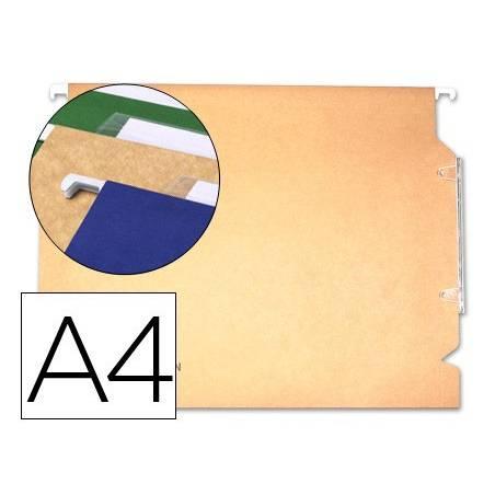 Capas de arquivo suspenso A4 com visor lateral