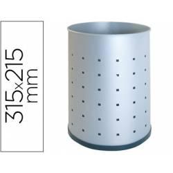 Cestos de papeis metálicos perfurados 12L