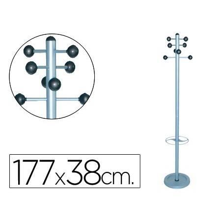 Cabides de pé metálicos com 8 suportes