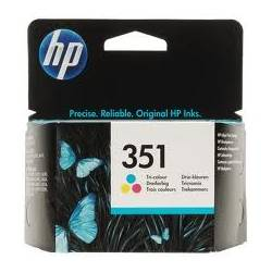 Tinteiro HP 351 Tricolor...