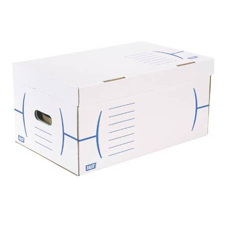 Caixas de cartão para 5 caixas de arquivo morto