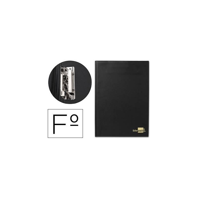 Porta notas preto com miniclip interior lateral