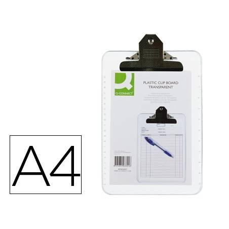 Porta notas A4 transparentes