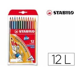 Lápis de cores Stabilo Trio