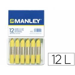 Lápis de cera Manley...
