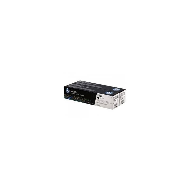 Toner HP 126A Preto - pack com 2 toners (CE310AD)