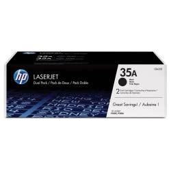 Toner HP 35A Preto - pack...