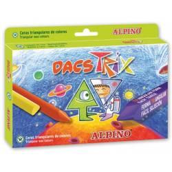 Lápis de cera Alpino Dacstrix triangulares