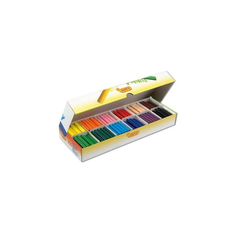 Lápis de cera Jovi - caixas com 300 lápis sortidos