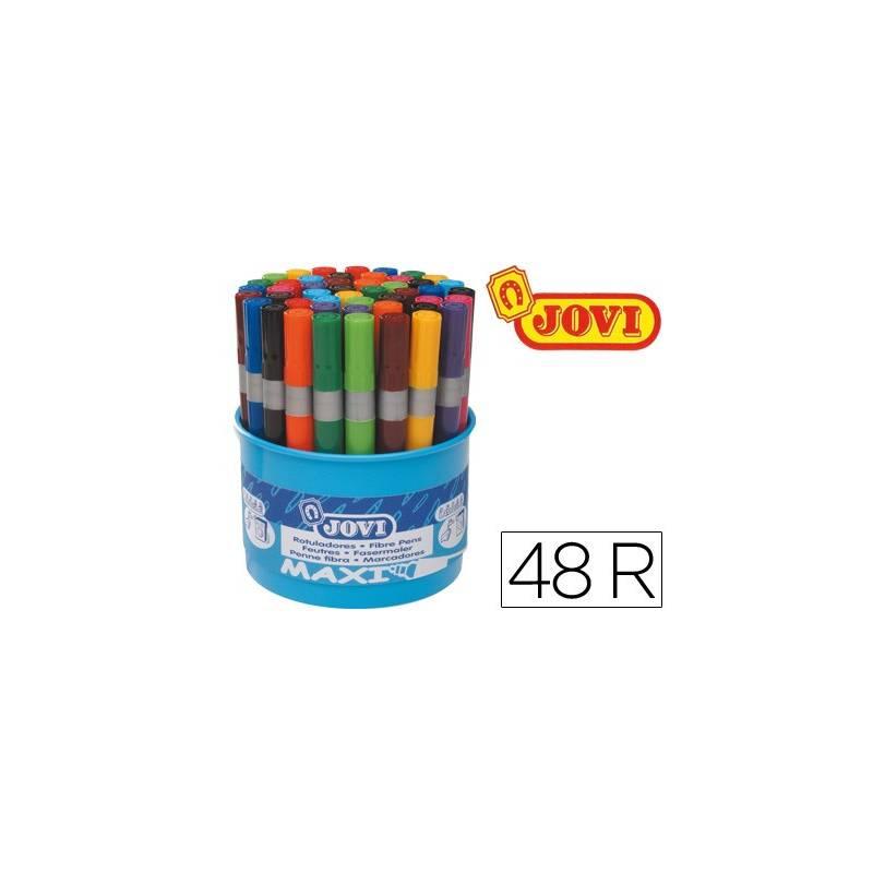Potes de marcadores de feltro Jovi Maxi