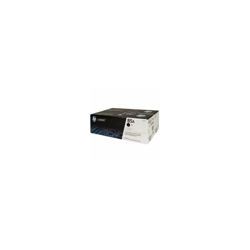 Toner HP 85A Preto - pack com 2 (CE285AD)