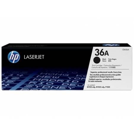 Toner HP 36A Preto (CB436A)