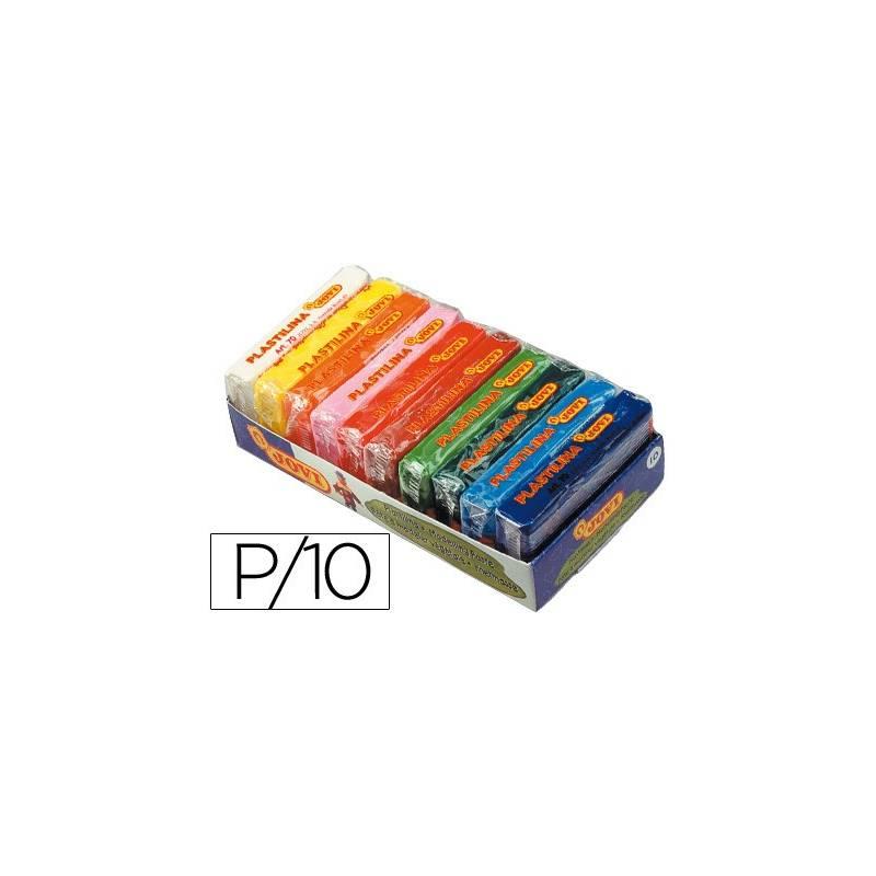 Plasticinas coloridas Jovi cores sortidas