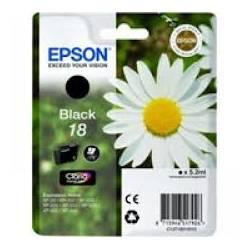 Tinteiro Epson nº 18 Preto (C13T18014010)