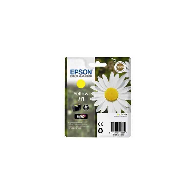 Tinteiro Epson nº 18 Amarelo (C13T18044010)