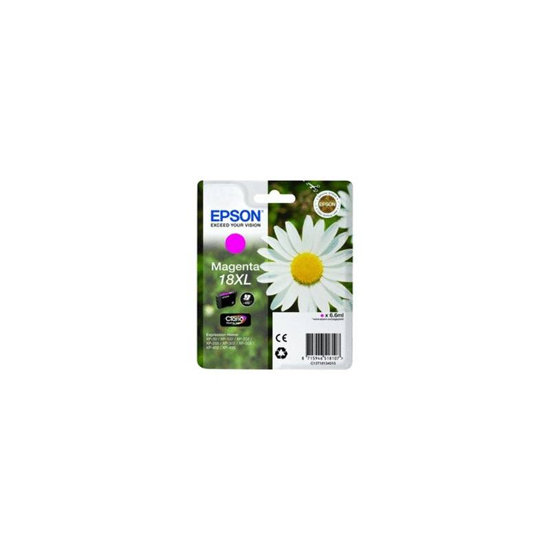Tinteiro Epson nº 18XL Magenta (C13T18134010)
