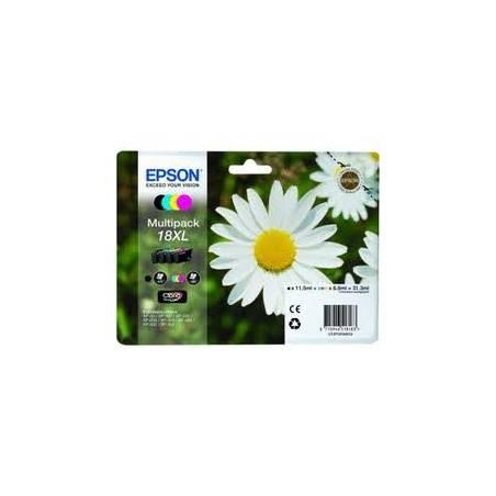 Tinteiro Epson nº18XL - pack com as 4 cores (C13T18164010)
