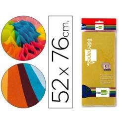 Papel seda colorido 52x76cm