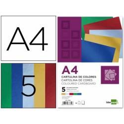 Cartolinas metalizadas A4 -...