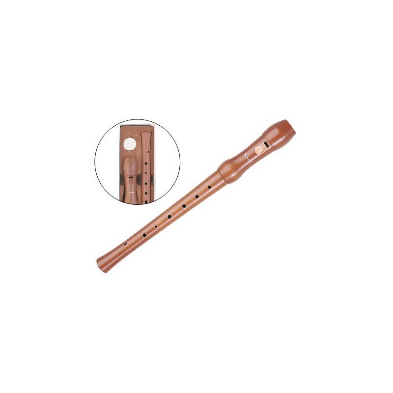 Flautas em madeira envernizada Hohner