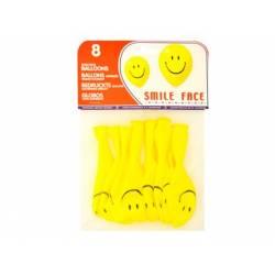 Balões cara sorridente
