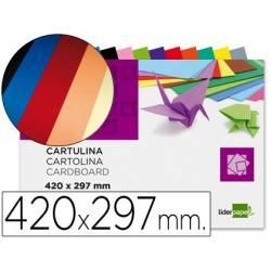 Blocos de cartolinas A3 coloridas