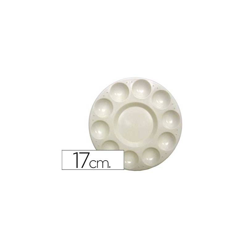Paletas de plástico circulares