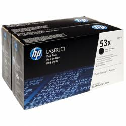 Pack 2 Toners HP 53X de...