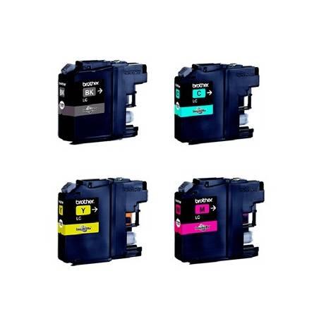 Pack de 4 tinteiros Brother LC121VAL