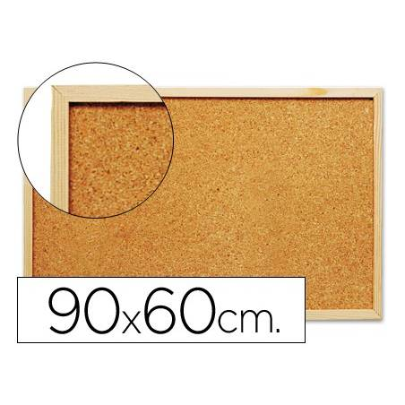 Quadros de cortiça 90x60 cm - caixilho em madeira