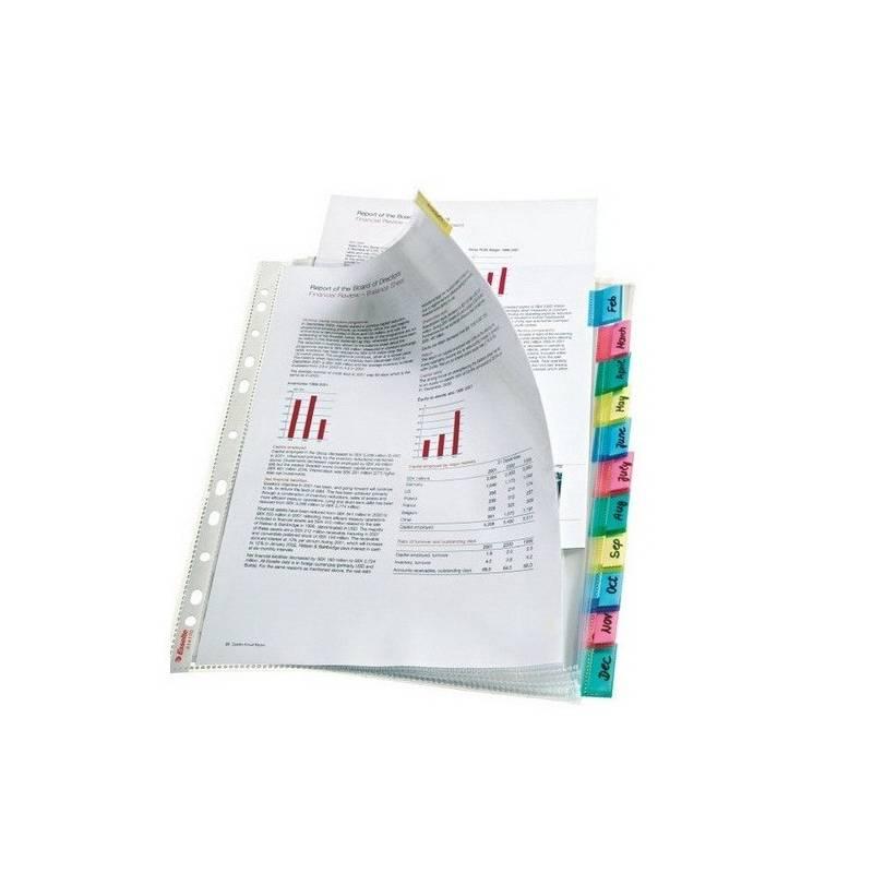 Bolsas catálogo A4 com pestana Esselte 414170