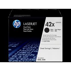 Toner HP 42X (Q5942XD) duplo de alta capacidade