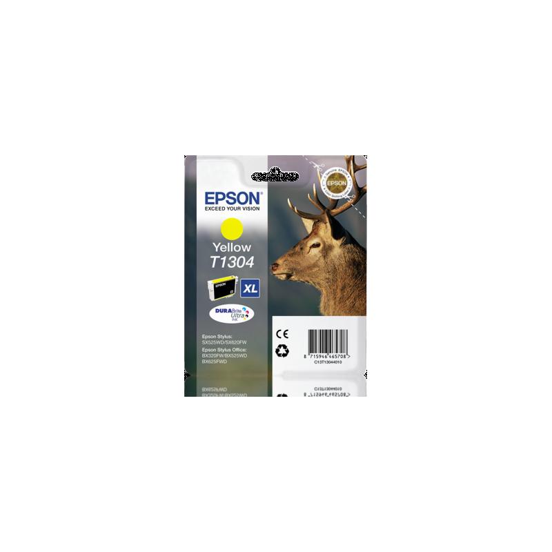 Tinteiro Epson T1304XL amarelo