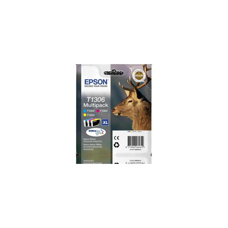 Multipack de 3 cores Epson T1306