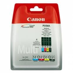 Pack de 4 tinteiros Canon...