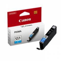Tinteiro Canon CLI-551CXL azul