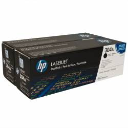 Toners HP 304A pretos...