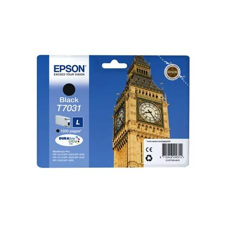 Tinteiro Epson T7031 preto