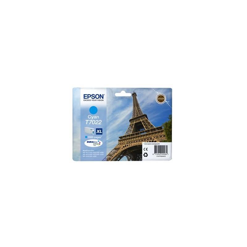 Tinteiro Epson T7022 azul de alta capacidade