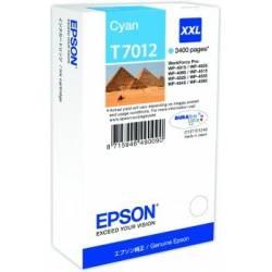 Tinteiro Epson T7012 azul de capacidade extra