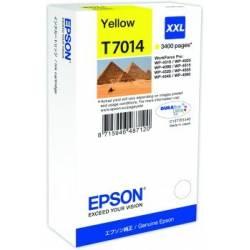 Tinteiro Epson T7014 amarelo de capacidade extra