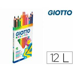 Lápis de cores Giotto Mega-Tri