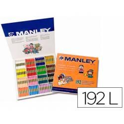 Lápis de cera suave Manley
