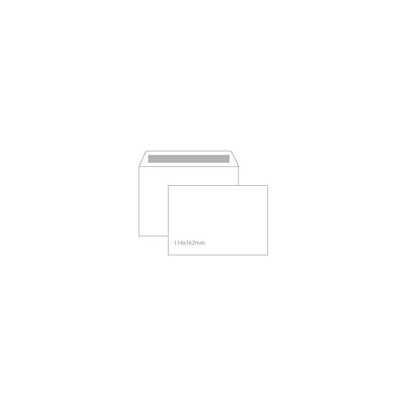 Envelopes brancos C6 114x162 mm autodesk