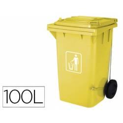 Contentores de lixo para reciclagem amarelos